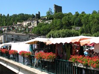 bourdeaux provence market walking tour france